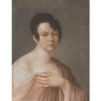 portrait de mademoiselle duchesnois by henri françois riesener