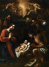 l'adoration des bergers by fabrizio santafede