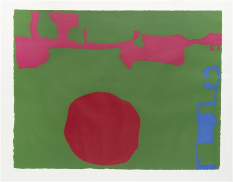 plate 11 (from january 1973) by patrick heron