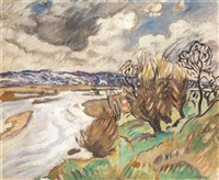 paysage by louis valtat