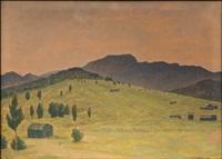 ilta-aurinkoa espanjan vuoristossa by vaino kamppuri