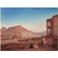 kotzia square, athens by johannes rabe
