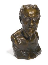 bust of mephistopheles by mark matveevich antokolsky