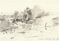 the boat builders by winslow homer