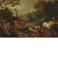 the garden of eden by roelandt savery