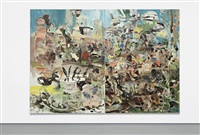park (in 2 parts) by cecily brown