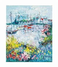 riviere fleurie by yolande ardisonne