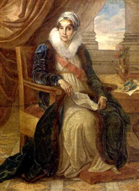 portrait of countess ekaterina p. shuvalova by vincenzo camuccini