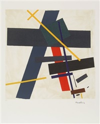 suprematist composition 3 by kazimir malevich