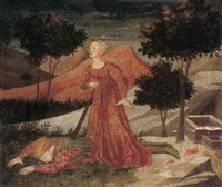 pyramus and thisbe by apollonio di giovanni di tommaso