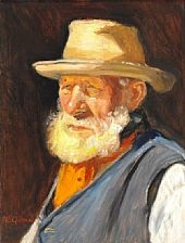 an old fisherman by michael peter ancher