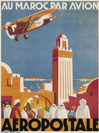 au maroc par avion aeropostale by jean jacquelin