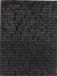 i mille fiumi più lunghi del mondo (progetto) by alighiero boetti