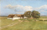 summer day on the country side by julius paulsen