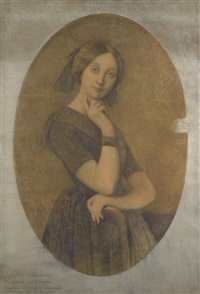 portrait de la comtesse d'haussonville by jean-auguste-dominique ingres