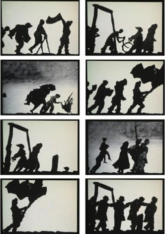 shadow procession by william kentridge