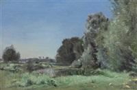 paysage by stanislas lépine