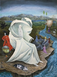 the temptation of st. anthony by leonora carrington