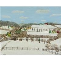 winter landscape by henry thomas gulick