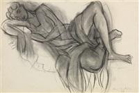 femme allongée by henri matisse