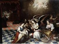the birth of the virgin by bartolomé esteban murillo