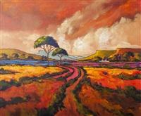 landscape by cornelius bosch