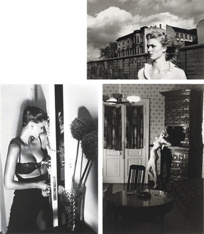 security new york iii 2 others 3 works by helmut newton