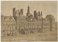 les travaux d'embellissement de l'hôtel de ville paris, atelier de lerebours by ivan bianchi