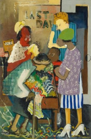 meeting place shopping by norman lewis
