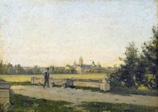 environs de chartres by stanislas lépine