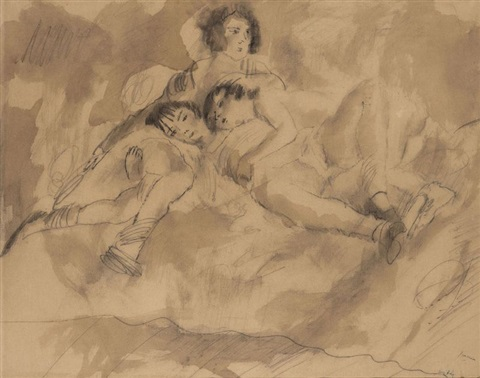 le repos by jules pascin