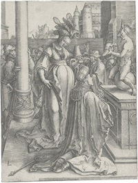 solomon's idolatry by lucas van leyden