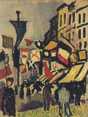 Le 14 Juillet Au Havre Par Raoul Dufy Sur Artnet