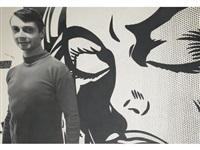 roy lichtenstein in his studio 1964 by dennis hopper