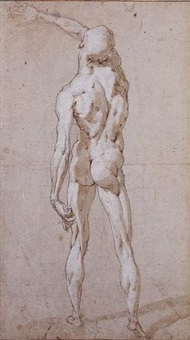male nude seen from behind by andrea boscoli