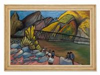 the bridge by marianne werefkin