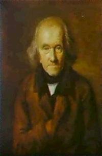 a self portrait of the artist by leonard de france