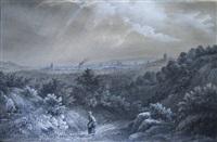 vue de paris depuis grenelle by boug d'orschwillier