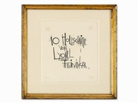 10 holzschnitte (title page) by lyonel feininger