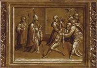 un vescovo esorcizza un indemoniato by girolamo da treviso the younger