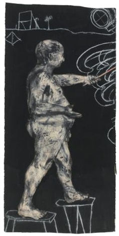 ubu drawing by william kentridge