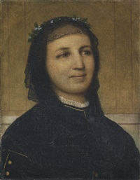 bildnis margaretha antoinette mähly-schermar by arnold böcklin the elder