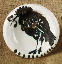 oiseau au ver (bird with worm) by pablo picasso
