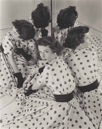 sans titre (enid phillips, fashion advertising photograph for dayton co.) by erwin blumenfeld