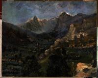 paesaggio montano by angiola meucci