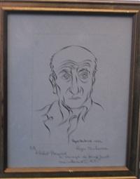 le portrait de max jacob by roger toulouse