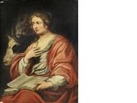 saint thecla by theodor van thulden