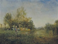 the laundresses by ivan pavlovich pokhitonov