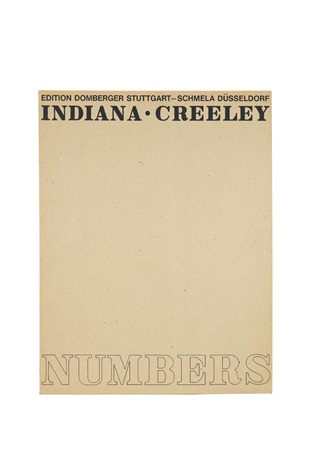 numbers portfolio of 10 by robert indiana