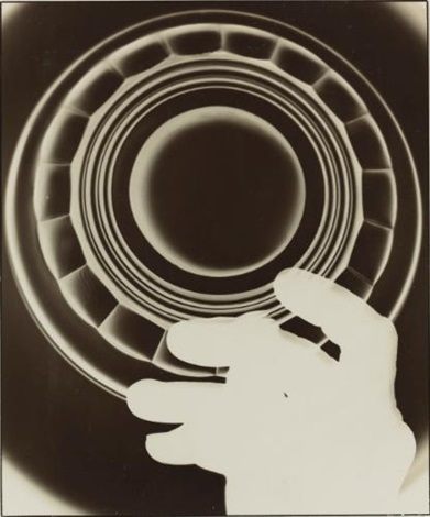 photogram (advertisement for a glass manufacturer, cologne) by august sander